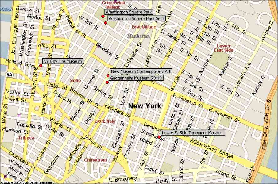map of soho nyc 731 Map Of Soho Nyc