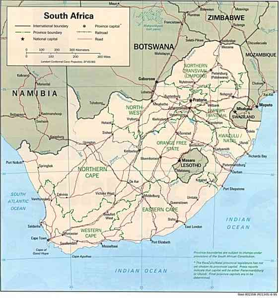 map of south africa 91 Map Of South Africa