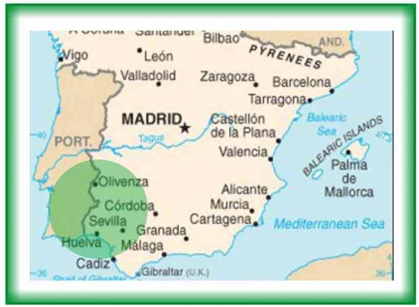 Map Of South Of Spain Map Holiday Travel