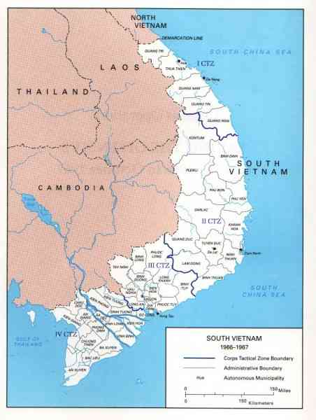 map of south viet nam 78 Map Of South Viet Nam