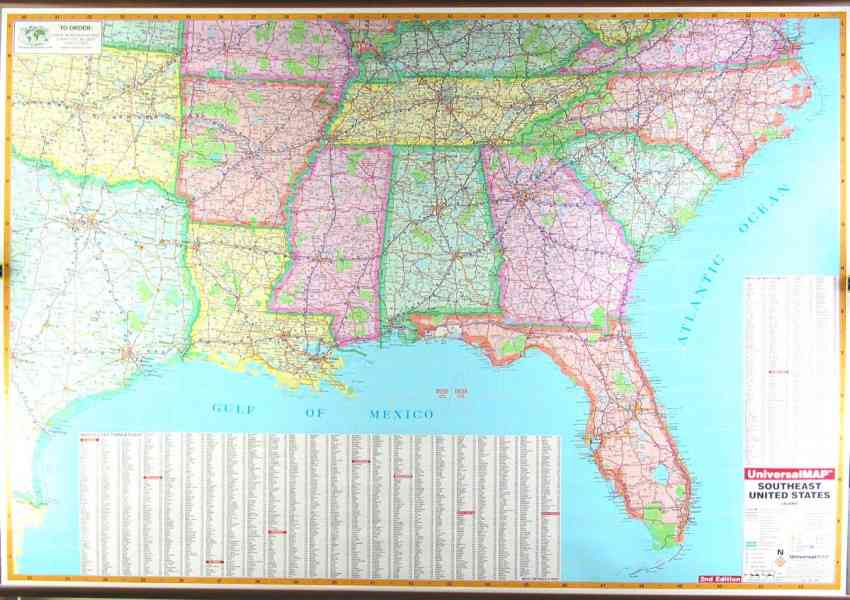 Map Of Southeast U S Map Holiday Travel HolidayMapQcom - Southeast us map