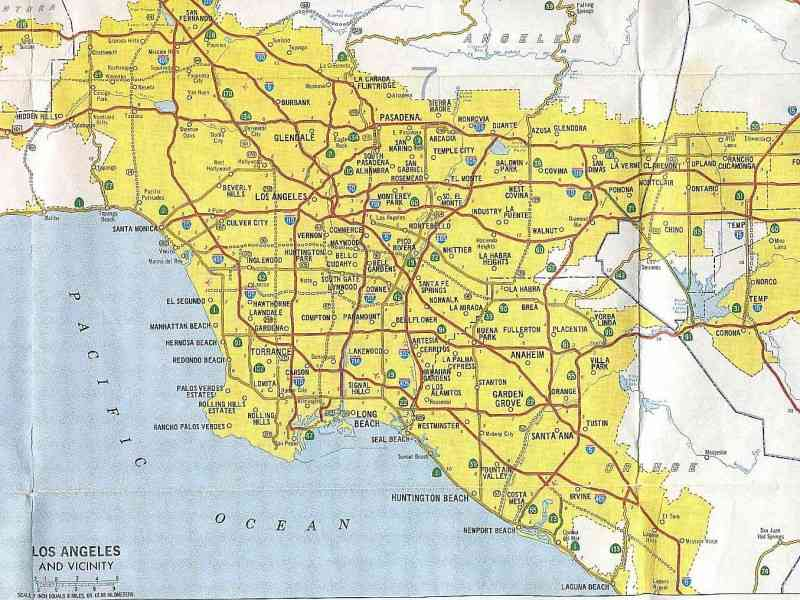 map of southern california 142 Map Of Southern California