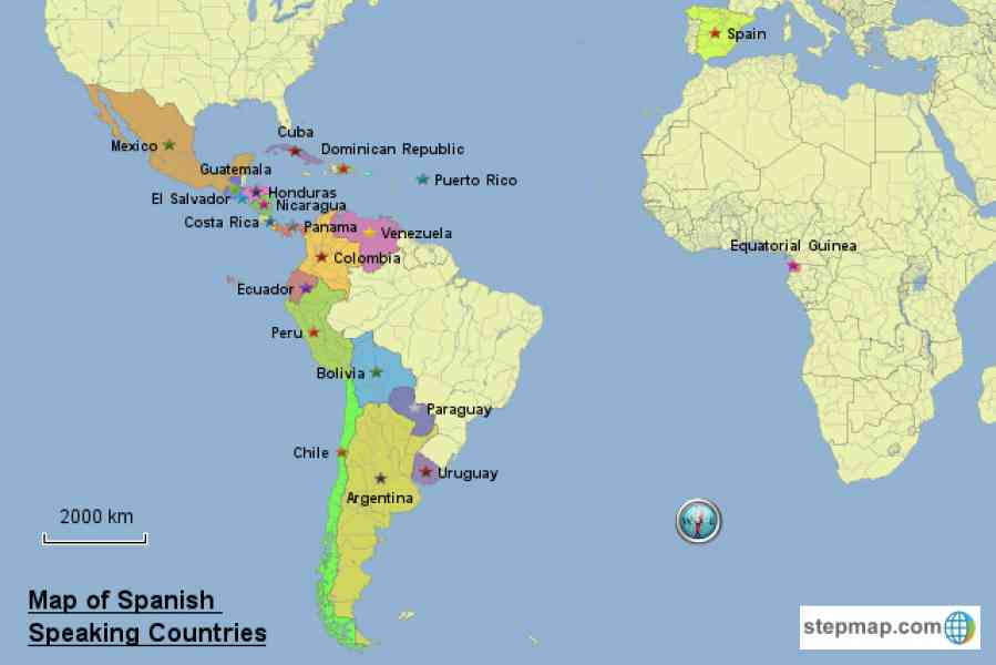 Hispanic heritage month lessons tes teach map of spanish speaking countries holidaymapq gumiabroncs Image collections