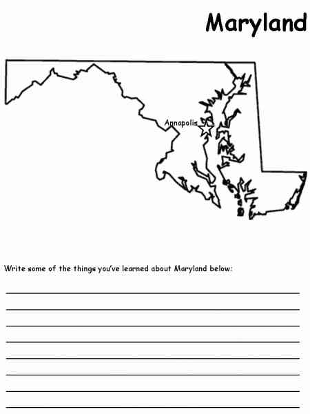 map of state of maryland 467 Map Of State Of Maryland