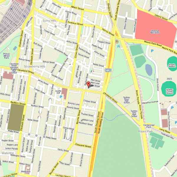 map of surry hills 6 Map Of Surry Hills
