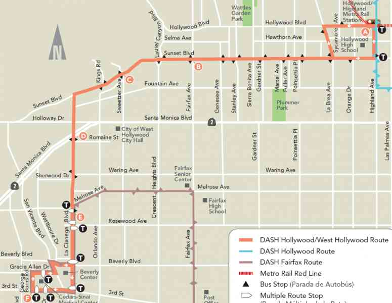 Map Of The Hollywood Stars 65 Map Of The Hollywood Stars