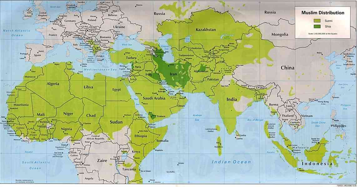 map of the islamic world 54 Map Of The Islamic World