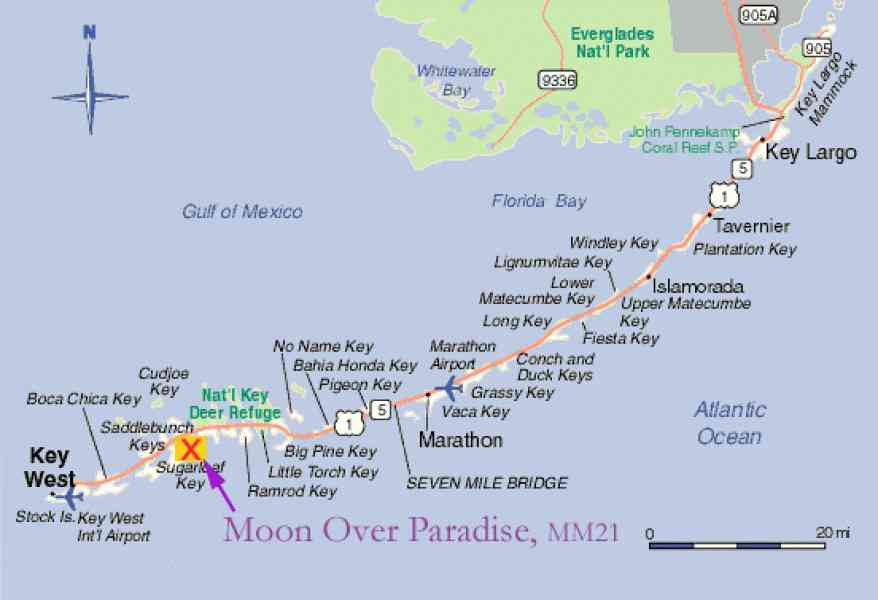 map of the keys florida map holiday travel holidaymapq