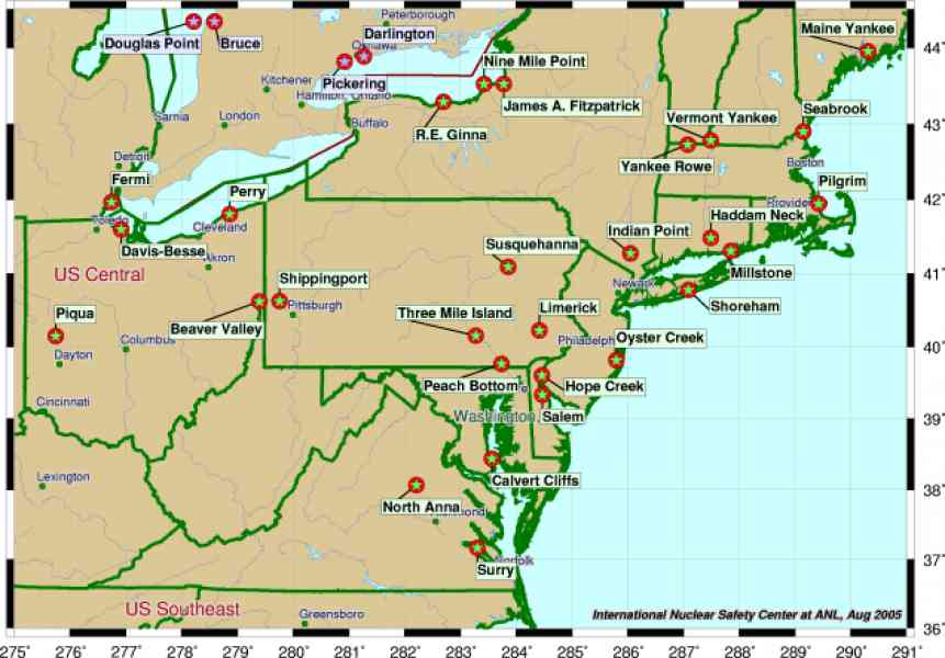 Map Northeast Usa Millstonehills North East USA Free Map Free - Us and usa map