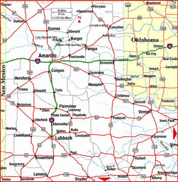 map of the texas panhandle 3 Map Of The Texas Panhandle