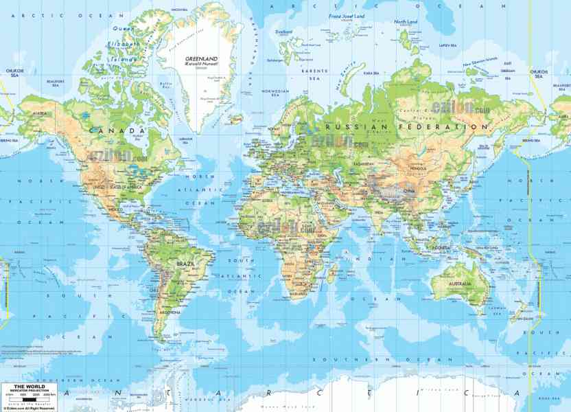 map of the world 138 Map Of The World