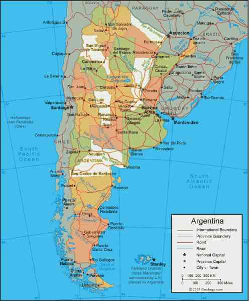 map of the world argentina 453 Map Of The World Argentina