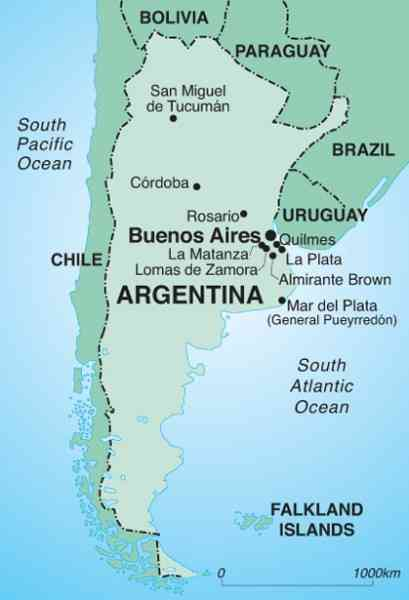 map of the world argentina 591 Map Of The World Argentina