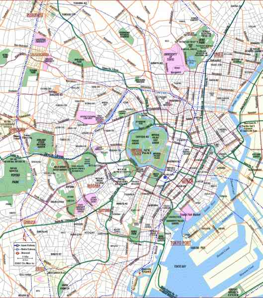 map of tokyo 10 Map Of Tokyo