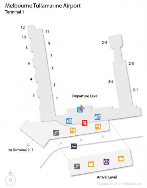map of tullamarine airport 195 Map Of Tullamarine Airport