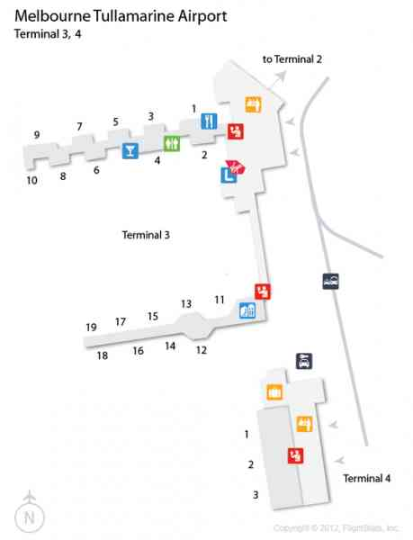 map of tullamarine airport 552 Map Of Tullamarine Airport