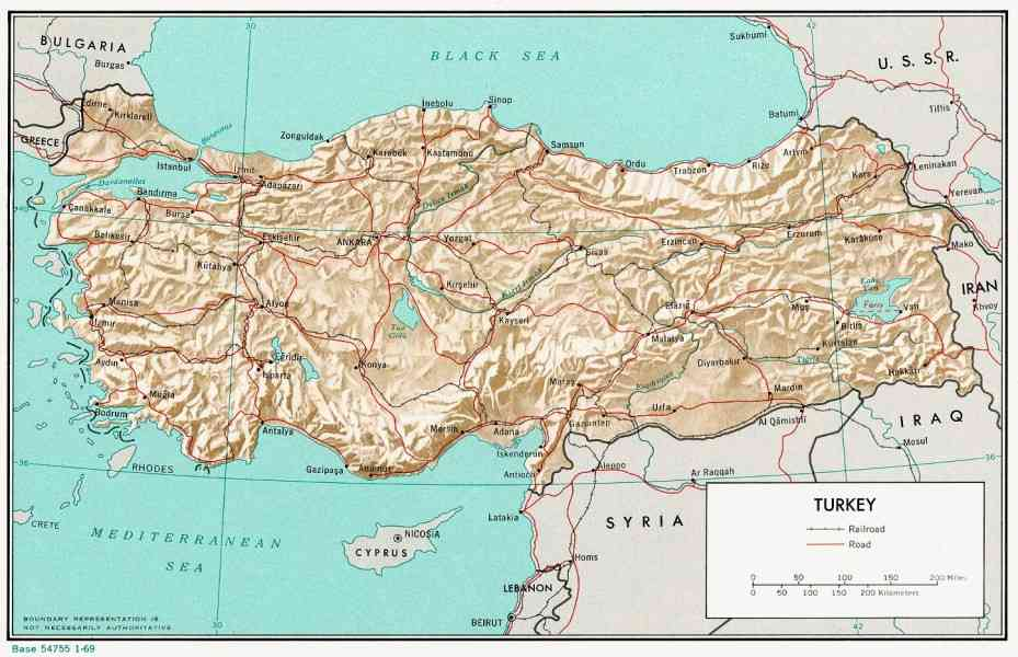 map of turkey 120 Map Of Turkey