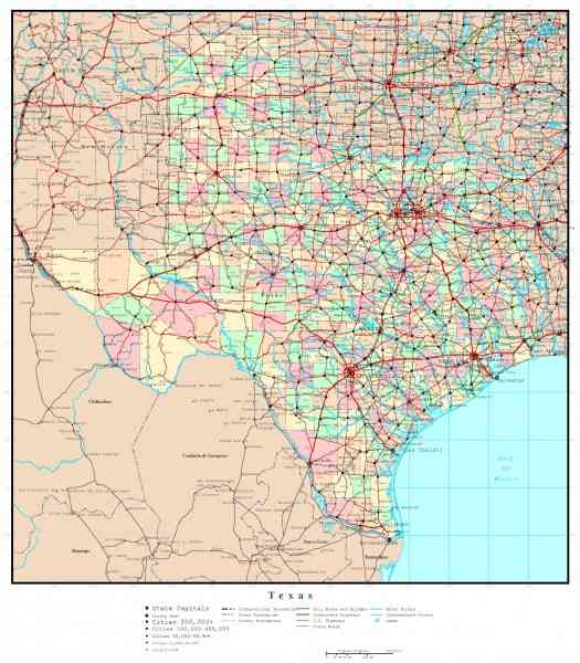 map of tx 459 Map Of Tx