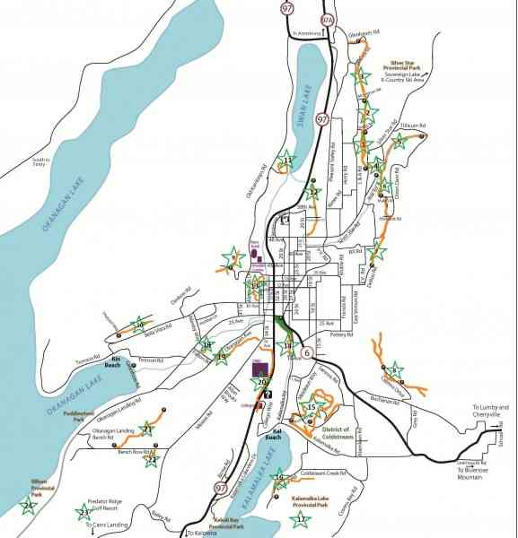 map of vernon bc 772 Map Of Vernon Bc