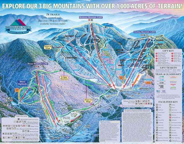 map of vt ski resorts 537 Map Of Vt Ski Resorts