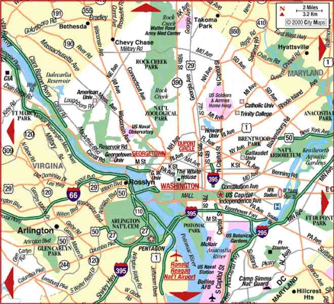 map of wash dc 106 Map Of Wash Dc