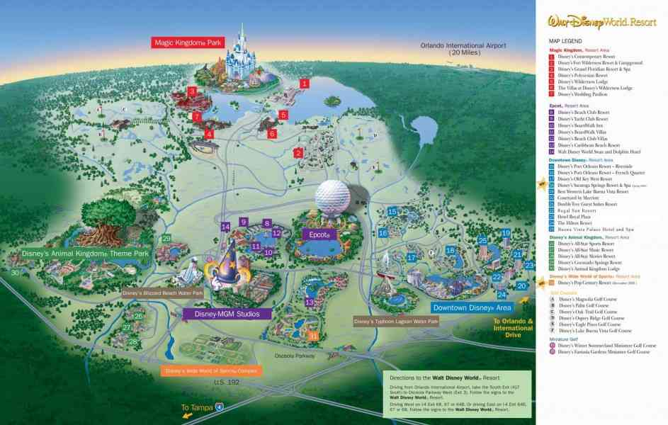 map of wdw 269 Map Of Wdw