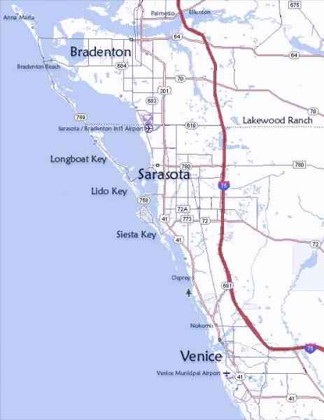 map of west coast florida 5 Map Of West Coast Florida