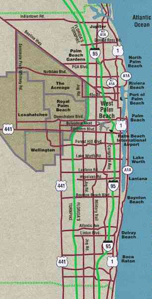 map of west palm beach fl 572 Map Of West Palm Beach Fl