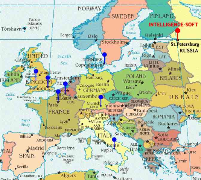 map of western europe 125 Map Of Western Europe