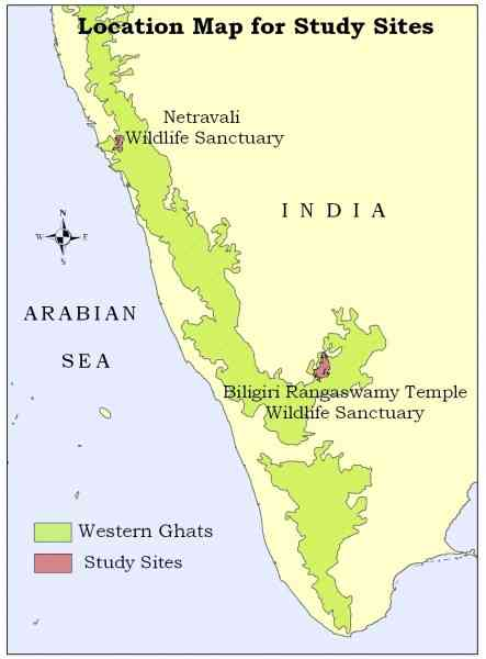 map of western ghats map holiday travel holidaymapq