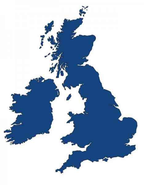 map outline of uk 452 Map Outline Of Uk