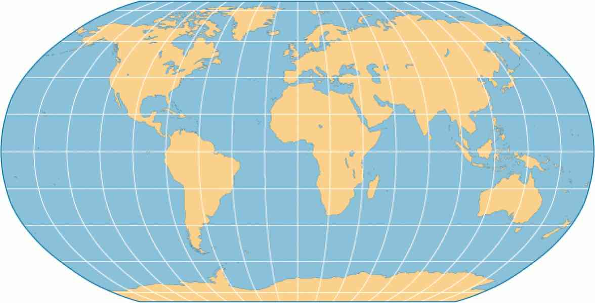 Map Projection Holidaymapq Com