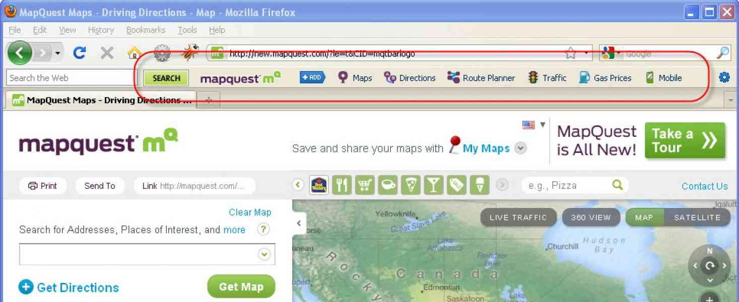 map quest mobile 166 Map Quest Mobile
