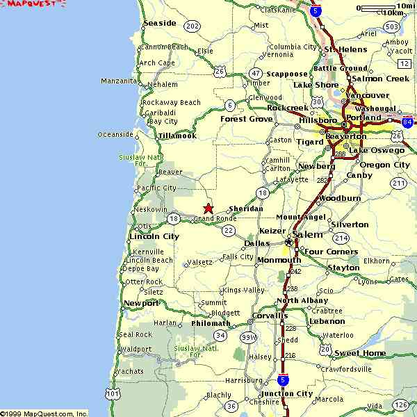 map quest oregon 8 Map Quest Oregon