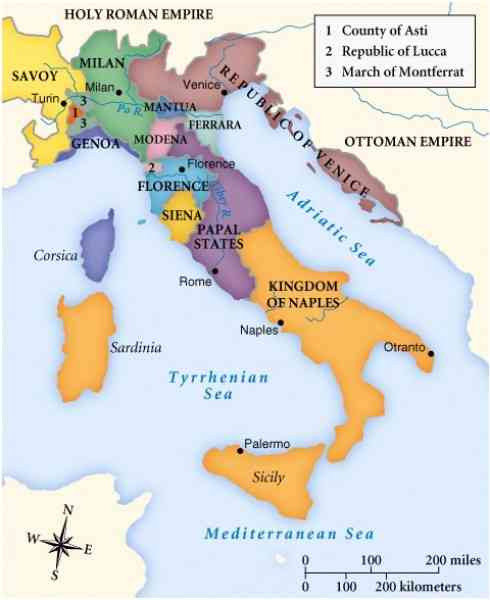 Italy in the Middle Ages