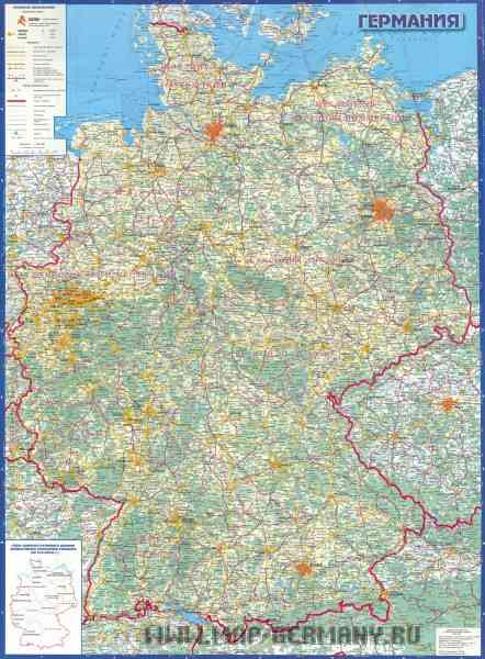 map road germany 69 Map Road Germany
