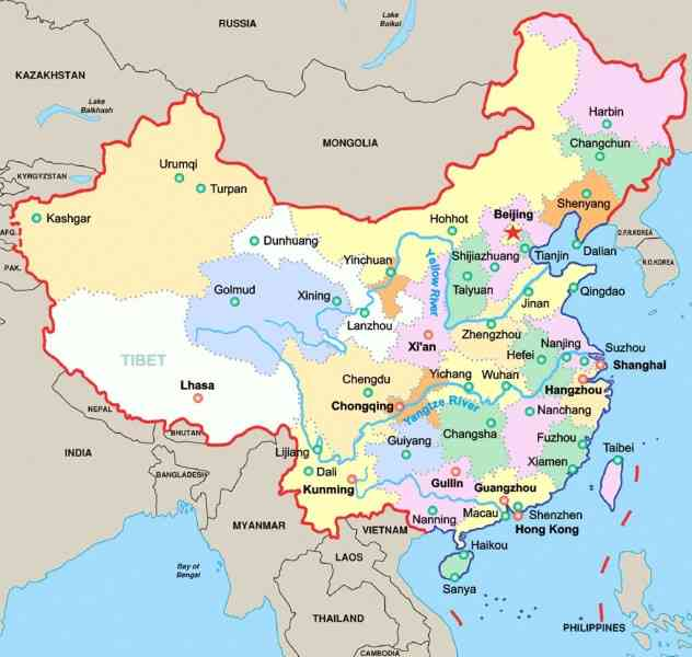 All About Shanghai Travel Map Map Of China 1000 China Maps