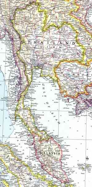 map thailand and malaysia 9 Map Thailand And Malaysia