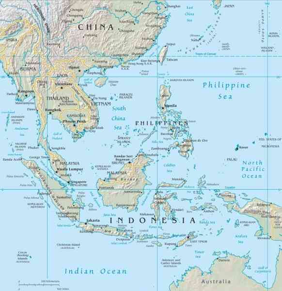 map thailand and malaysia 172 Map Thailand And Malaysia