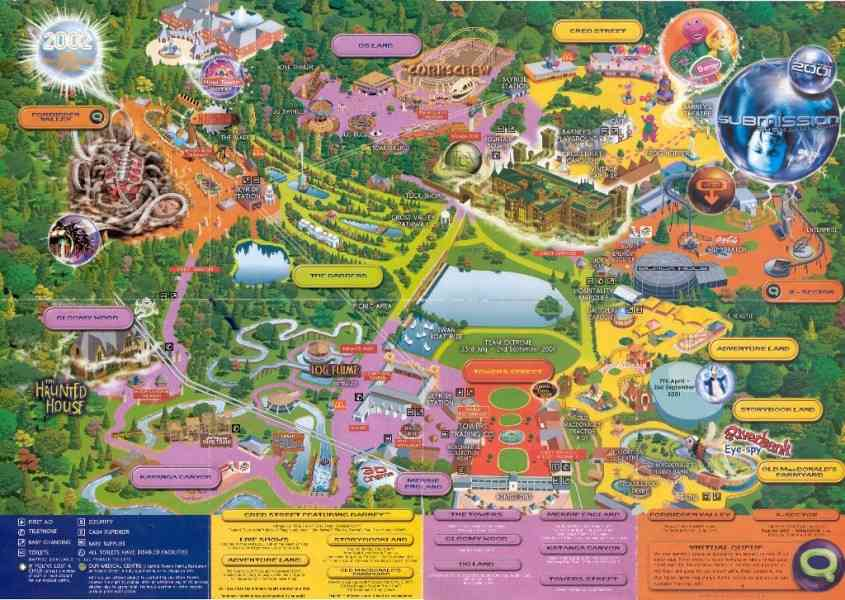 a comparison of disney mgm and universal amusement parks It's home to four theme parks: the magic kingdom, epcot, disney's hollywood  studios, and disney's animal kingdom the icon of walt disney.