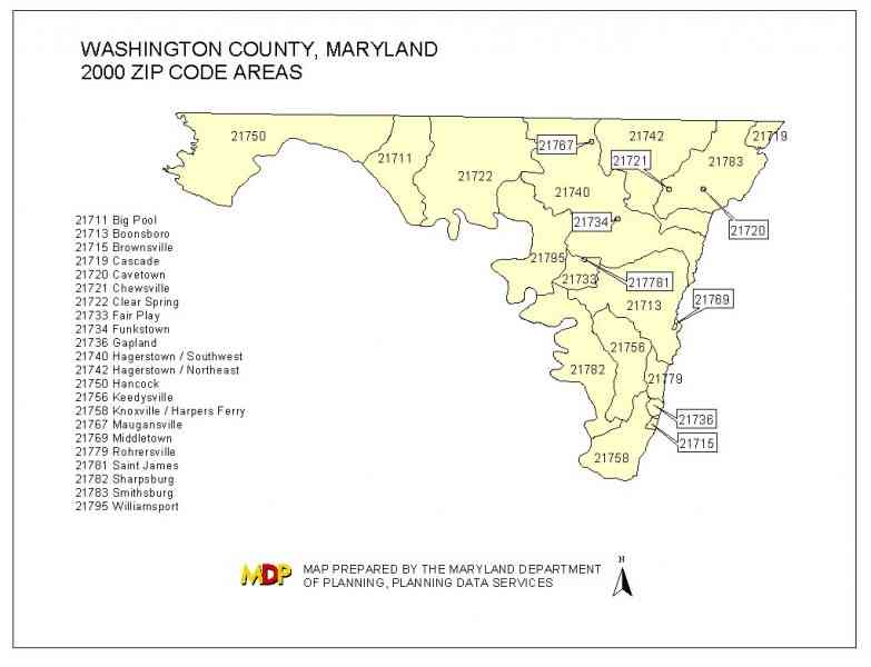 zip code map md 10 Zip Code Map Md