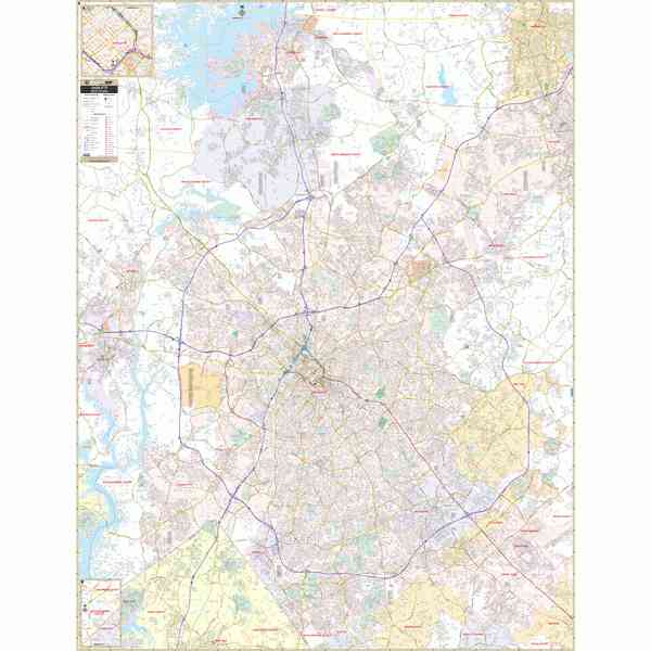 Zip Code Map Of Charlotte Nc - HolidayMapQ.com