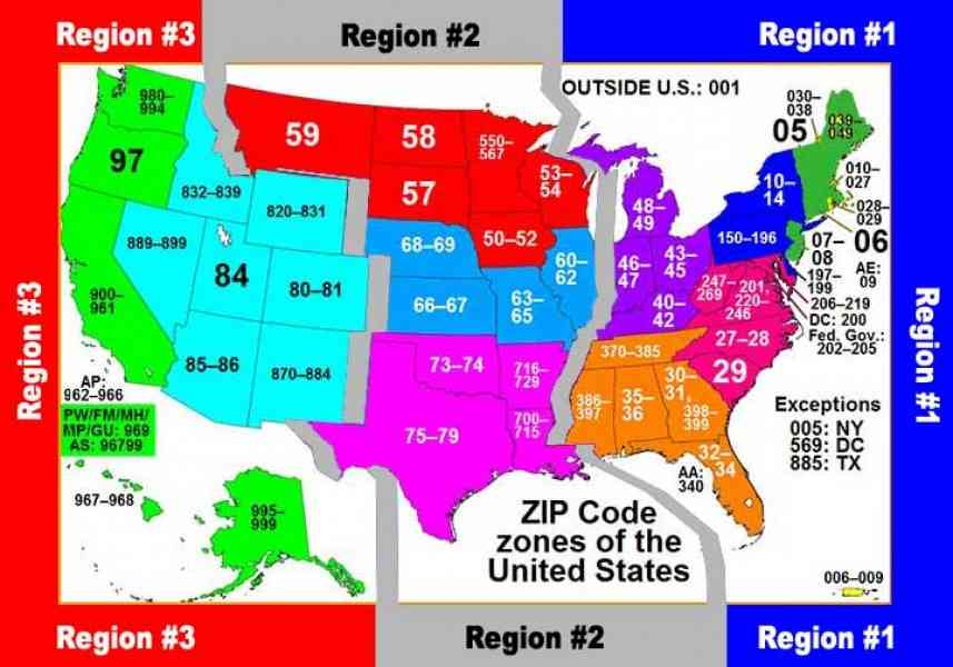zipcode map 124 Zipcode Map