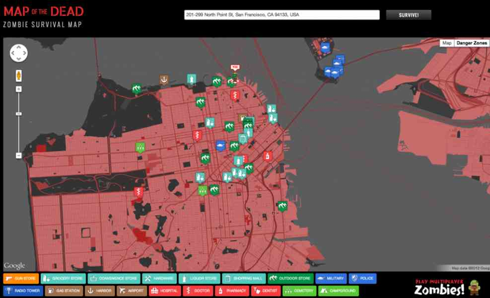 zombie map 236 Zombie Map